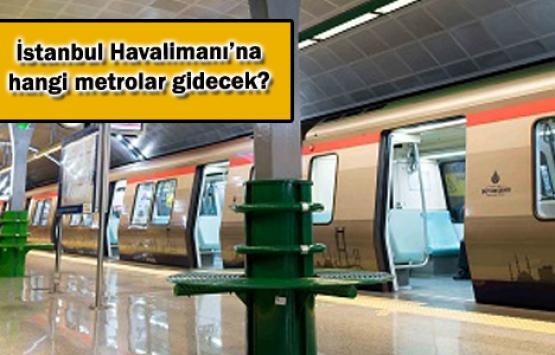 İstanbul Havalimanı'na 30 dakikanın altında ulaşılacak!