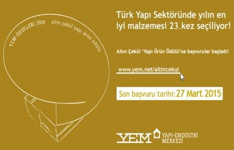 Türk yapı sektörünün en iyi malzemesi seçiliyor!