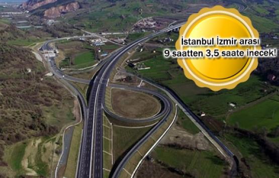 Gebze-Orhangazi-İzmir Otoyolu'nun yüzde