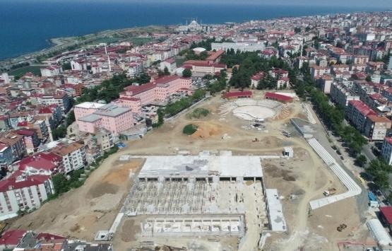 Trabzon Ortahisar Millet Bahçesi'nin inşaatında son durum ne?