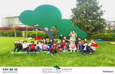 Eston Şehir Mahallem'de 23 Nisan Çocuk Bayramı kutlandı!