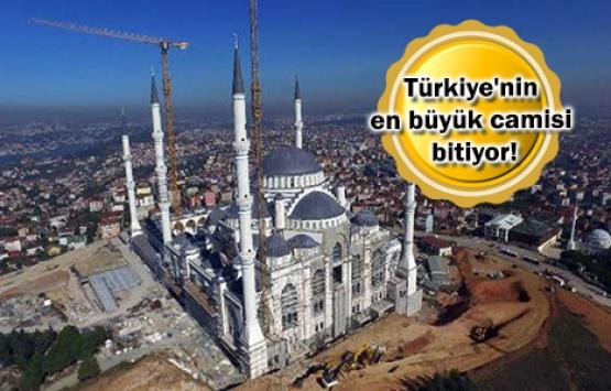 Çamlıca Camii'nde sona