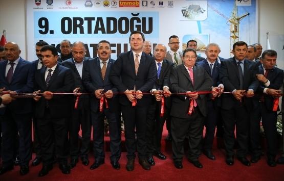 9'uncu Ortadoğu İnşaat Fuarı açıldı!
