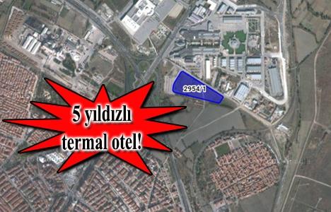 Kütahya Yıldırım Beyazıt Vakfı arsasına termal otel geliyor!