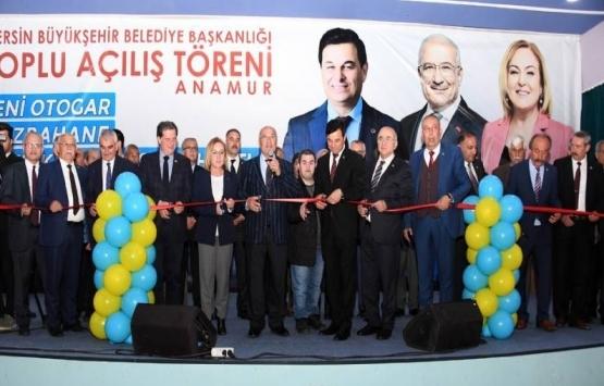 Mersin Anamur Otogarı açıldı!