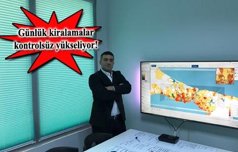İstanbul'da günlük konut kiralamanın ticari hacmi 500 milyon dolar!