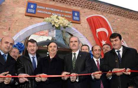 Muallimzade Hamamı 5 asır sonra kapılarını kültür merkezi olarak açtı!