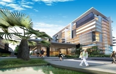 Seba Office Boulevard'ın 16 bin metrekaresi yeşil alan için ayrıldı!