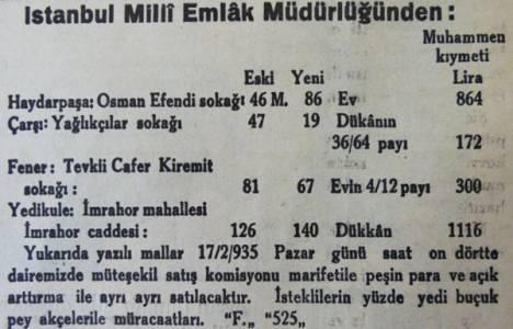 1935 yılında Haydarpaşa'da