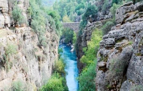 Antalya Köprülü Kanyon'a HES geliyor!
