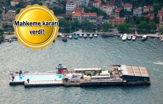 Galatasaray Adası kimin tartışmasına son nokta!