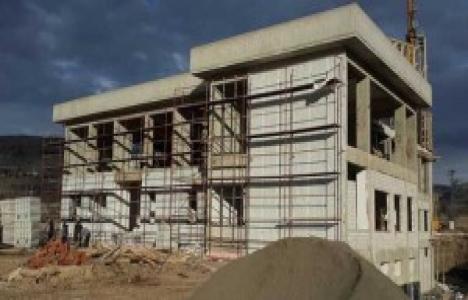 Giresun Alucra yeni Devlet Hastanesi'nde inşaat çalışmaları sürüyor!