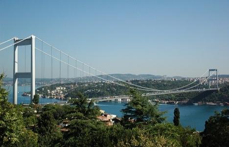 İstanbul'daki köprü ve