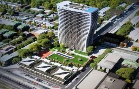 Doruk GYO Allure Tower projesinde 326 bin TL'ye 2+1! 48 ay 0 faizle!
