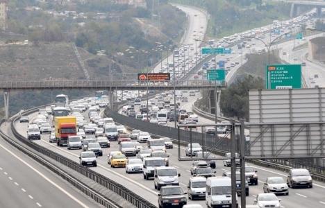 İstanbul'da trafik yoğunluğunun