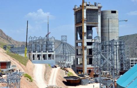 Elazığ'a çimento fabrikası