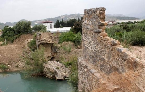 Antalya Gazipaşa'daki Kahyalar Köprüsü restore ediliyor!