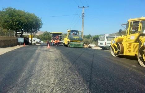 Bodrum'da asfaltlama çalışmaları başladı!