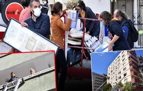 İzmir'de evleri zarar gören vatandaşlar taşınıyor!