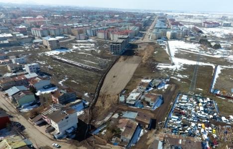 Erzurum Şehzade Sokağı Tortum Yolu'na bağlanıyor!