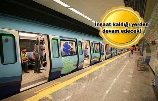 Pendik-Tuzla Metrosu'nun çalışmaları yeniden başlıyor!