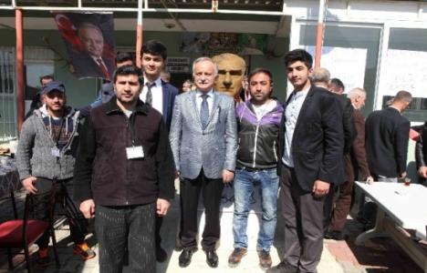 Hasan Karabağ vatandaşa imar planını anlattı!