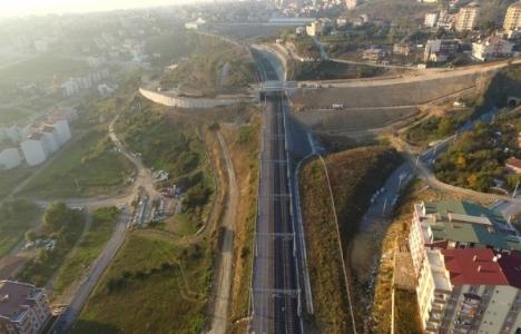 Gebze'de trafiği rahatlatacak çalışma sürüyor!