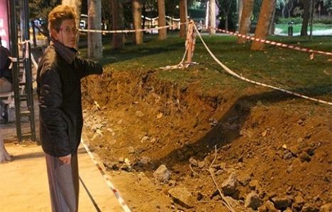 Gezi Parkı'nda kazılan alan kapatıldı!
