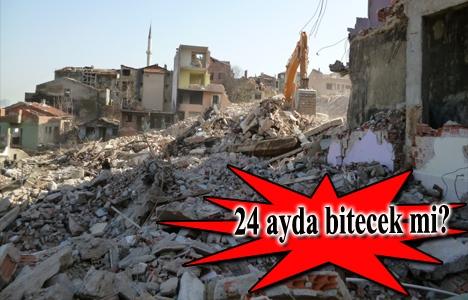 Yenitepe Kadıköy için ikinci adada yıkım başladı!