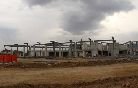 Alaşehir Yeni Otobüs Terminali'nde çalışmalar tam gaz!