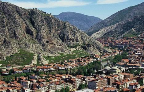 Amasya'da kömür ocağı