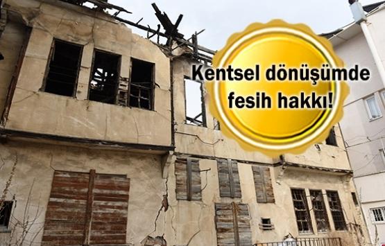 Riskli yapılar işaretlenecek, metruk binalar yıkılacak!