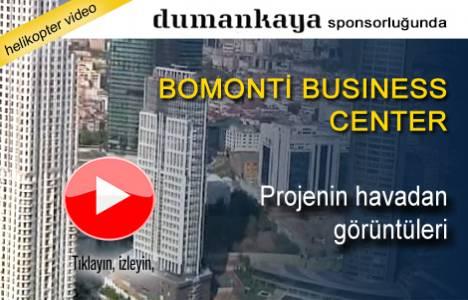 Bomonti Business Center nerede? Havadan görüntüleri!
