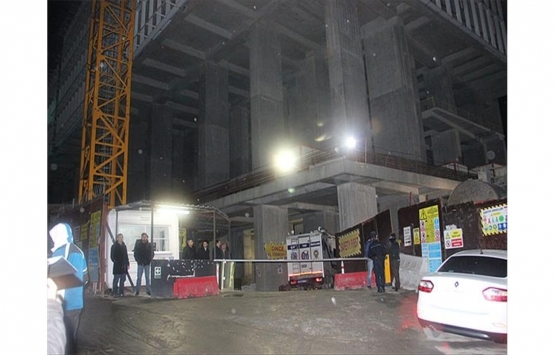 Nazilli'de inşaat halindeki apartmanı soydular!