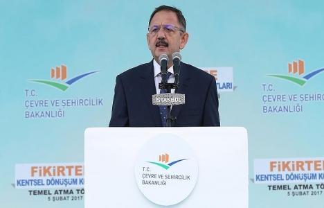 Mehmet Özhaseki: İstanbul'da 250 bin konut yapacağız!
