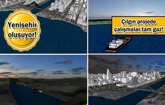 Kanal İstanbul'da tapu ve ruhsat süreci başladı!