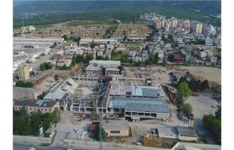 Yıldırım Spor Kompleksi'nde inşaat hızla devam ediyor!