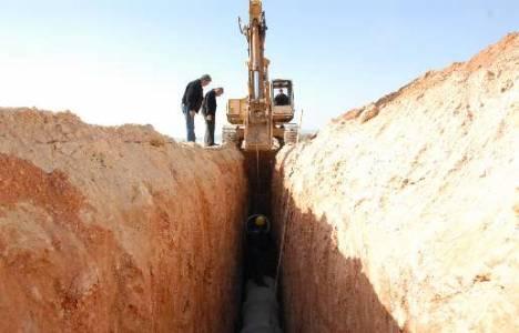 Mersin Yalınayak ve Karacailyas'a kanalizasyon şebekesi döşendi!