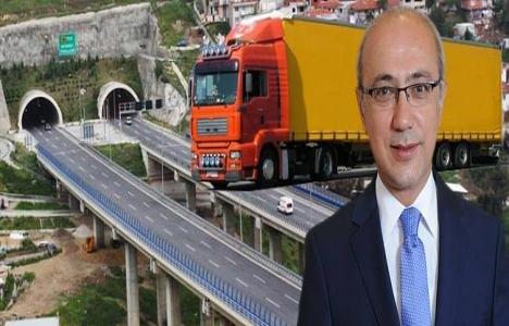 İstanbul tır trafiğinden kurtuluyor!