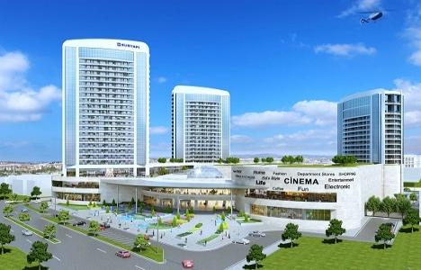 Sur Yapı Marka Rezidans ve AVM inşaatında son durum!