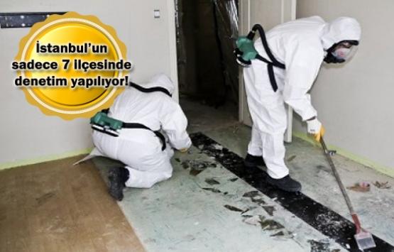İstanbul'da asbest tehlikesi!