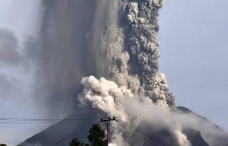 Sinabung Yanardağı'nda büyük