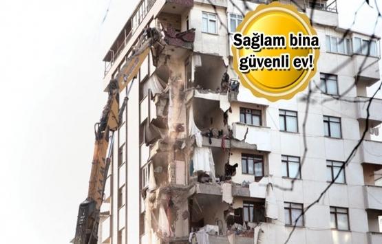 Riskli bina restine müteahhit desteği!