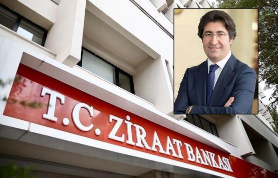 Ziraat Bankası'nın yeni genel müdürü Alpaslan Çakar oldu!