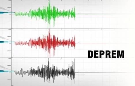 Ege Denizi'nde deprem meydana geldi!