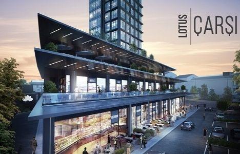 Terrace Lotus çarşı dükkanları fiyat!