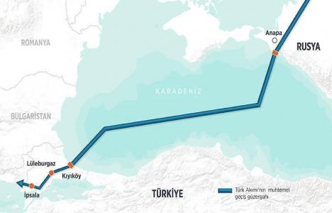 Türk Akımı'nda inşaat