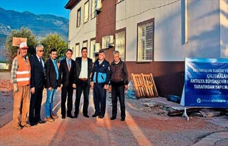 Antalya Belediyesi Demre'deki okul ve camileri onaracak!