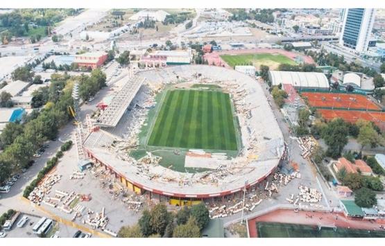 Ankara Yeni 19 Mayıs Stadı 2 yılda tamamlanacak!