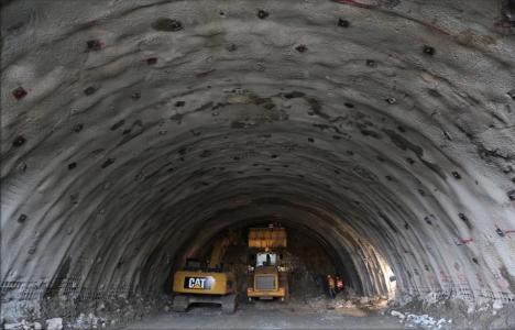 Ovit Tüneli'nin ilk